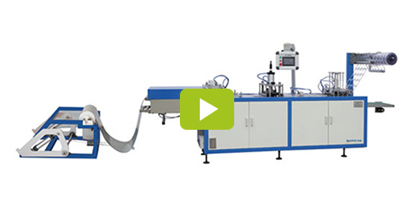 Plastic extrusion molding machine