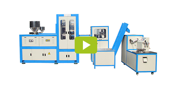 Plastic compression molding machine