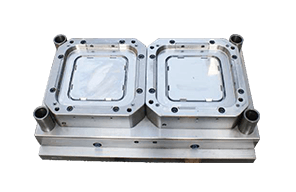 2-cavity Thin Wall Container Lid Mould - Cavity