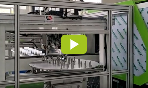 DKM IML Container Injection Molding Line