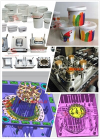 Professional Paint Bucket Molding Line