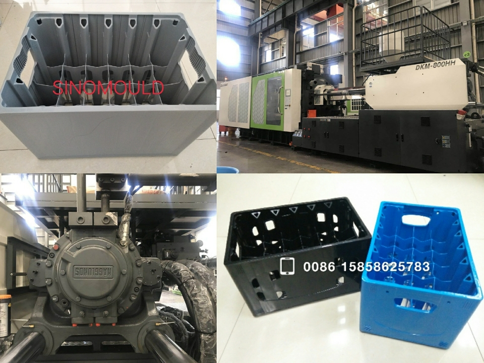 Bottle Crate High Speed Molding Machine