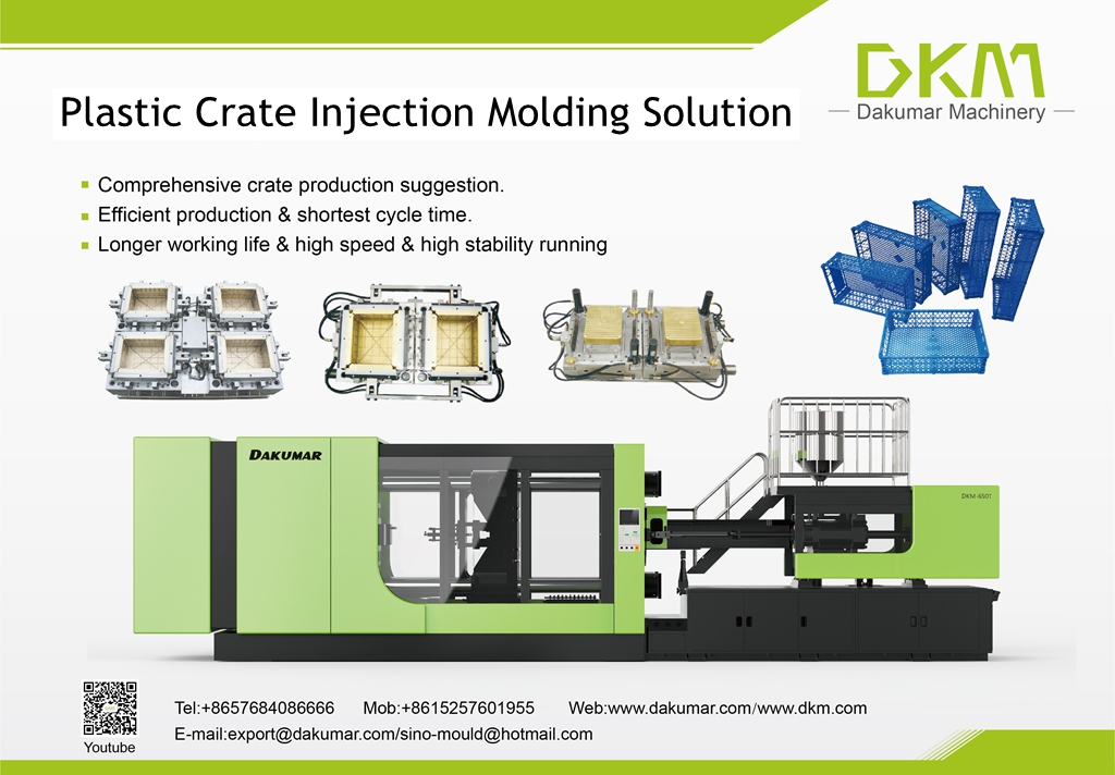 Plastic Crate Injection Molding Solution – DKM