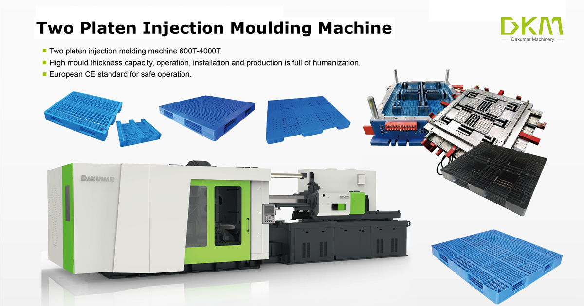 DKM Two Platen Injection Moulding Machine