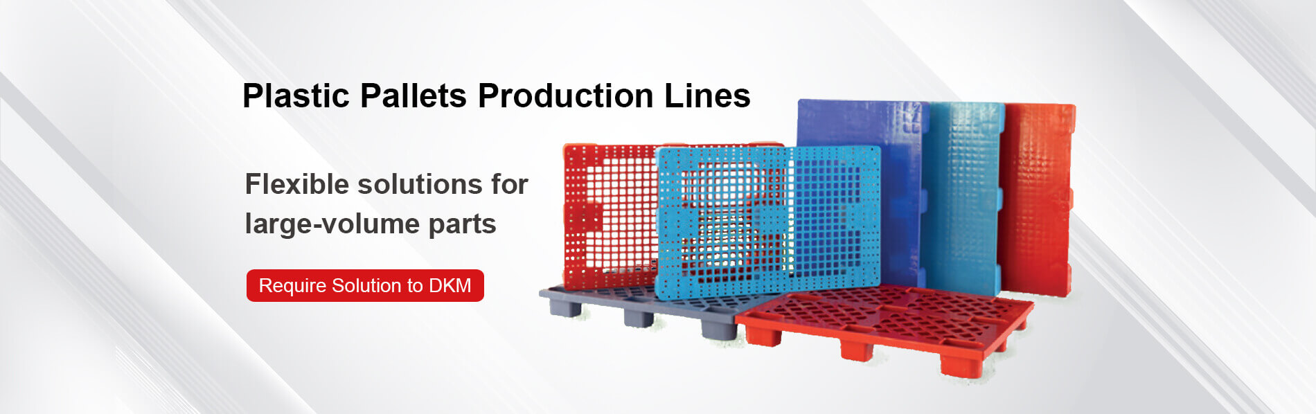 Plastic Pallets Production Lines