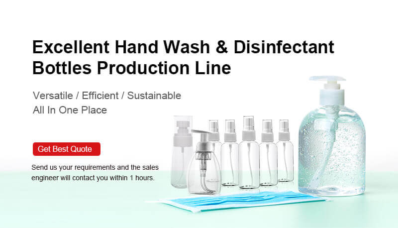 Excellent Hand Wash & Disinfectant Bottles Production Line