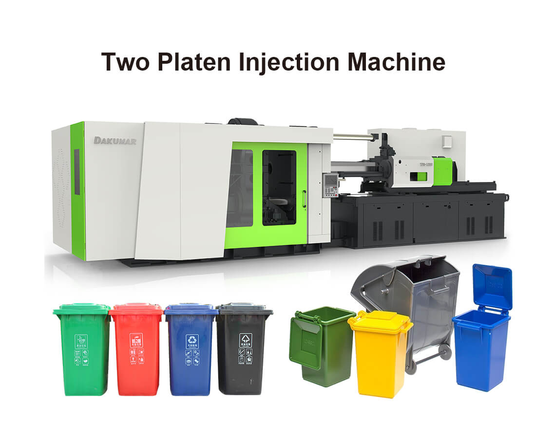 Two Platen Injection Machine