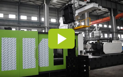 pallet injection molding video