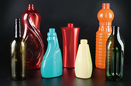 plastic blowing bottles