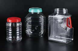 plastic bottle & jars