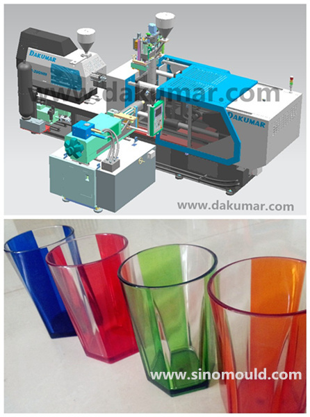 double color injection unit