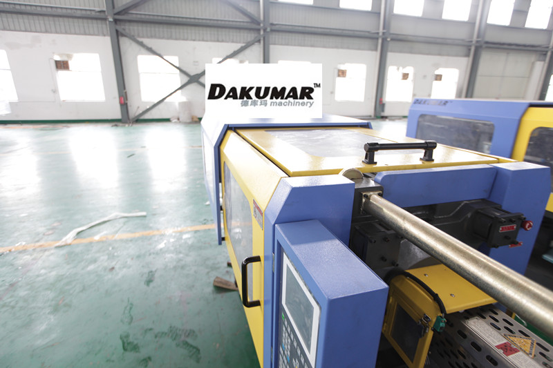 Safety machine guarding injection molding machine