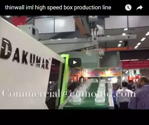 thinwall iml high speed box production line