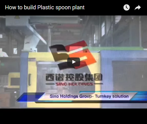 How to build Plastic spoon plant