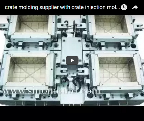 crate molding supplier with crate injection molding machine