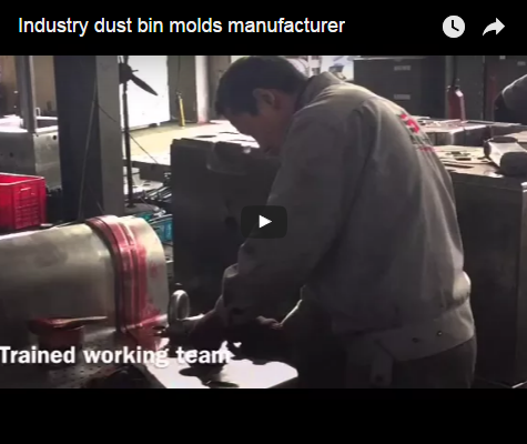 Industry dust bin molds manufacturer