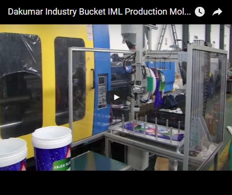 Dakumar Industry Bucket IML Production Molding Line