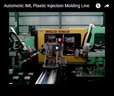 Automatic IML ice cream container production line