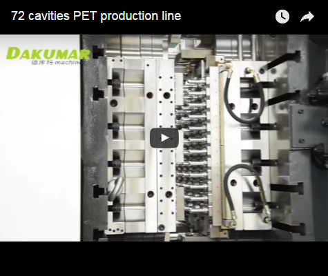 72 cavities PET production line