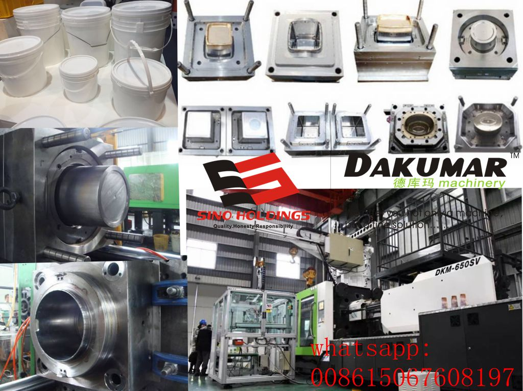 Paint bucket injection molding factory