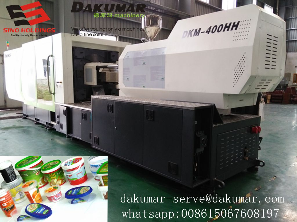 Special high speed injection machine for thin-wall box mould
