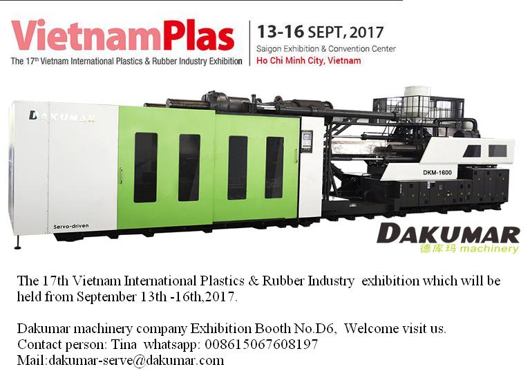 Vietnam plast fair outstanding injection machine