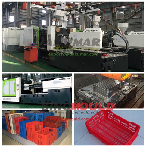 vegetable crate injection molding equipment