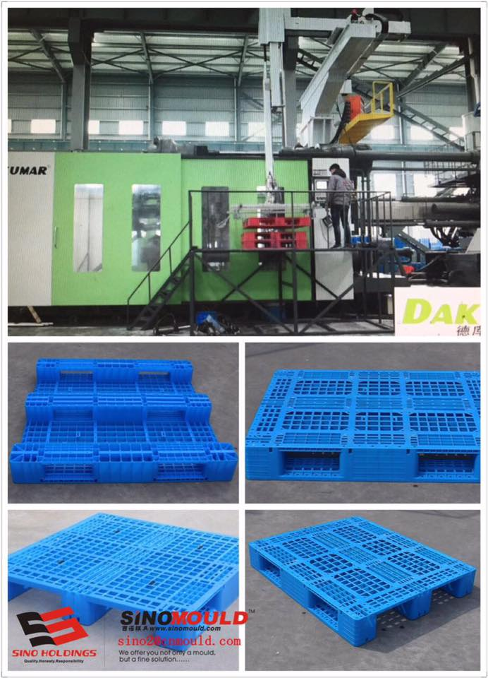 Large Plastic Pallet Injection Molding Line