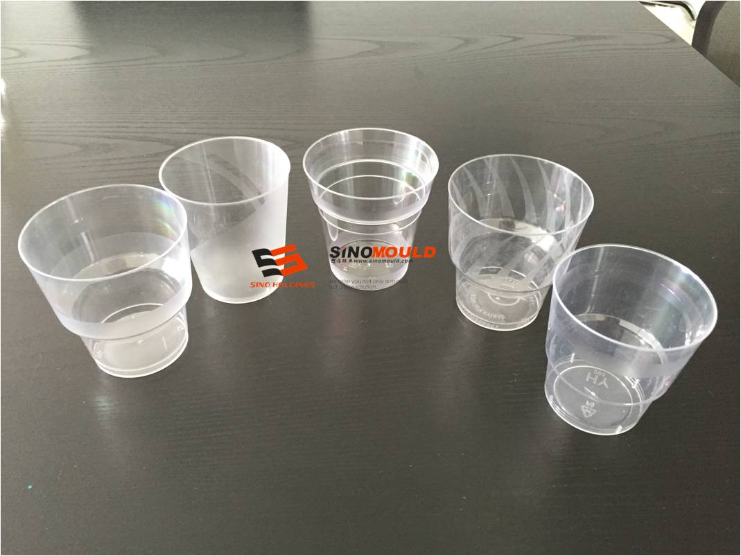 air line cup mould samples